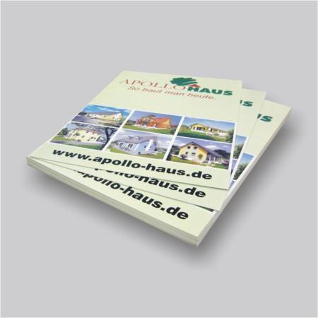 Kunststoff Werbeschilder 3 mm mit Digitaldruck