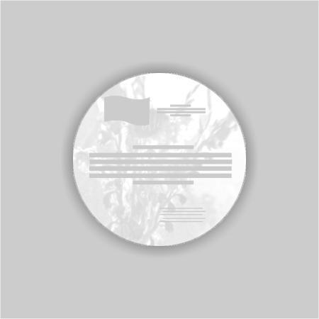 Werbe Discounter Webshop Aufkleber Outdoor Rund